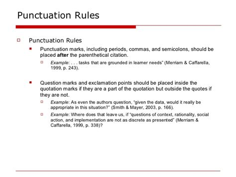 apa format quotation marks apa in text citations