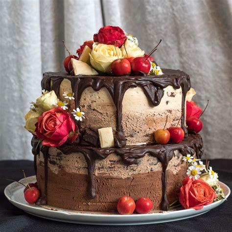 Hochzeitstorte Vegan by Semi Wedding Cake Vegane Hochzeitstorte Herr Johann