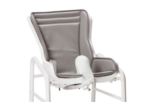 Swan Shower Chair by R82 Swan Attendant Propelled Toilet Bathing Chair
