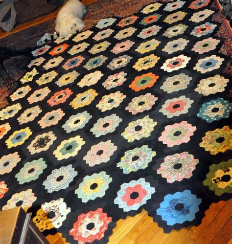 Patchwork Quilts Lots Of Them - vintage patchwork quilt multi color