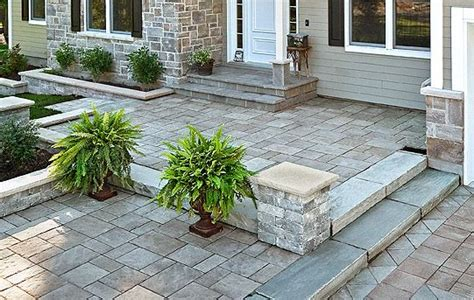 recouvrement patio beton 167 best techo bloc pav 233 s images on