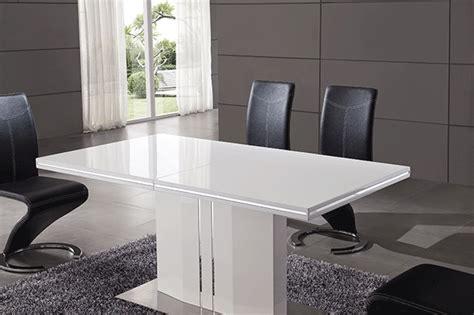 table sejour avec rallonge salle 224 manger table 224 manger blanc rallonge comforium