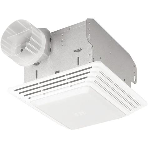 broan ceiling exhaust fan with light broan 70 cfm ceiling exhaust fan with light 679 the home