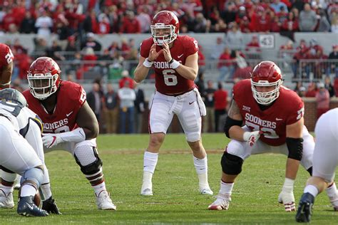 Www Mba Records Basketball Mayfield by Oklahoma Football Baker Mayfield Ties Fbs Record For