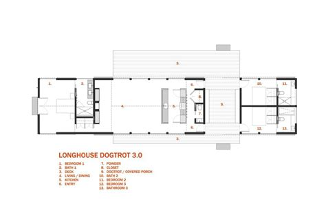 dog trot style floor plans longhouse dogtrot 30 schematic 30x40 design workshop
