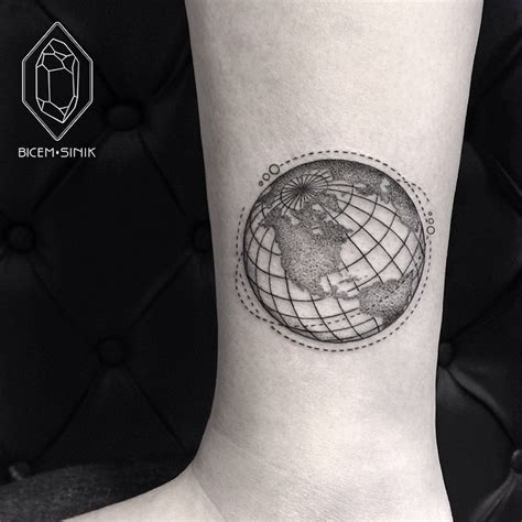 planet earth tattoo designs satellites planet earth best ideas gallery