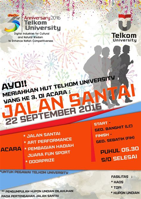 format proposal tugas akhir telkom university jalan santai telkom university jul ismail