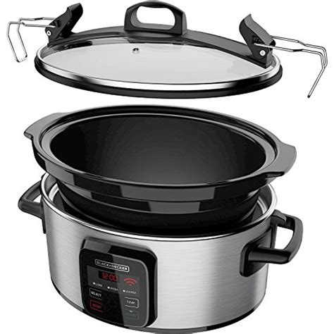 wifi cooker black decker best programmable crock pot 6 quart slow