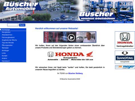 Honda Motorradh Ndler Berlin by B 252 Scher Automobile In Stolberg Motorradh 228 Ndler
