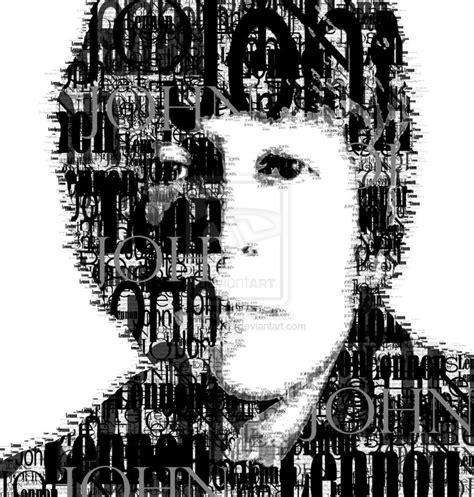 photoshop tutorial john lennon photoshop tipografia taringa