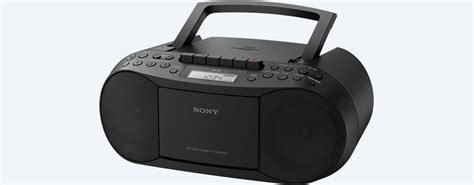 radio cd cassette cassette and cd player with radio cfd s70 sony us