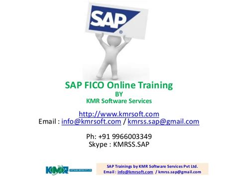 Sap Course For Mba by Sap Fico