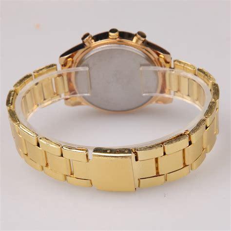 Jam Tangan Geneva Wanita Analog Gd 4432 geneva jam tangan analog yq004 golden