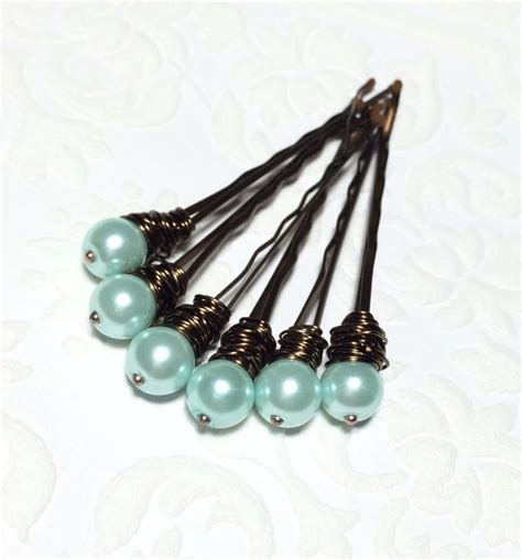 Green Gifts Hair Clip decorative bobby pin boho hair wedding hair