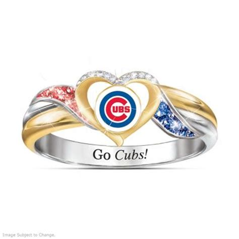 cubs rings chicago cubs mlb womens pride ring