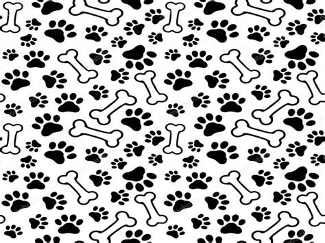 Puppy Paw Print Seamless Pet Paw Backgrounds For Powerpoint Templates Ppt Backgrounds Paw Print Powerpoint Template