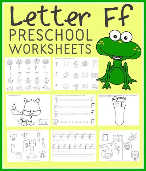 letter f worksheets free letter f preschool worksheets instant 1361