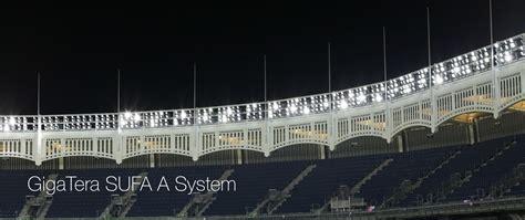 yankee stadium home run lights yankee stadium project planled