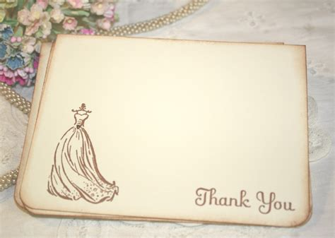 thank you card bridal shower template bridal shower thank you cards templates ideas