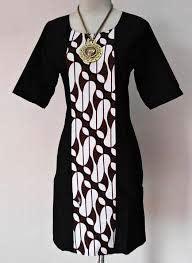 Tunik Batik Cantik Parang Sogan baju wanita baju kerja batik