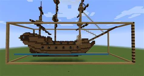 minecraft boat instructions minecraft sailing ship build layer by layer building