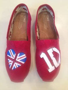diy one direction shoes toms on glitter toms one direction and tom
