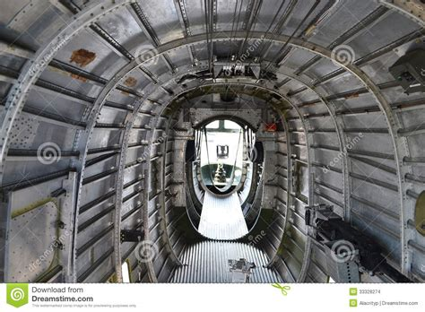 B 24 Interior by B 24 Bomber Belly Stock Images Image 33328274