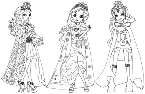 coloring pages for ever after high 57 best images about ava s 9th birthday party on pinterest