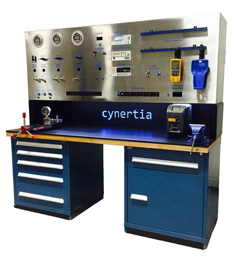 electrical test bench cynertia electric and control inc