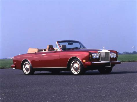 1986 rolls royce corniche iii convertible carsaddiction