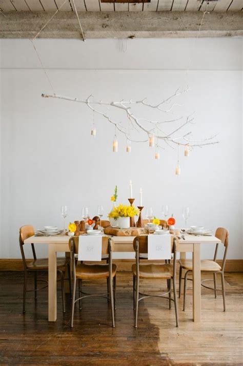 Como Decorar Una Mesa De Comedor #7: Lampara-rama-de-arbol.jpg