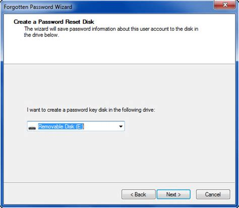 resetting windows key how to create password reset disk in windows 7 i have a pc