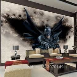 batman wall mural 3d amazing batman wall mural custom large photo wallpaper