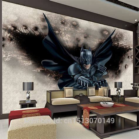 batman bedroom wallpaper 3d amazing batman wall mural custom large photo wallpaper