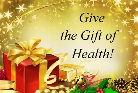 And Give The Gift Of by Give The Gift Of Health