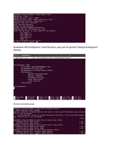 membuat server vps ubuntu membuat mail server di ubuntu