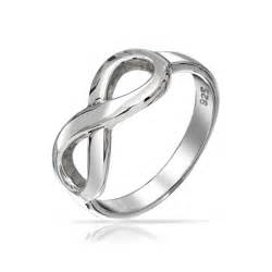 Infinity Symbol Ring Figure 8 Infinity Symbol Sterling Silver Ring