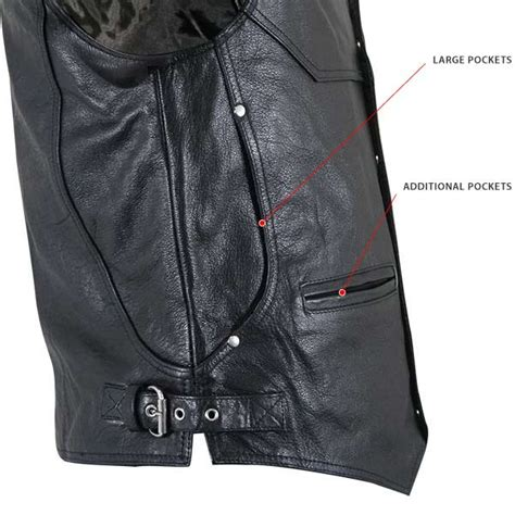 road bike leathers s road king biker leather motorcycle vest
