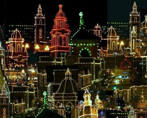 plaza lights in kansas city missouri just me pinterest