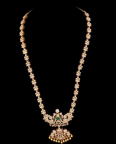 Diamond Long Chain   Jewellery Designs