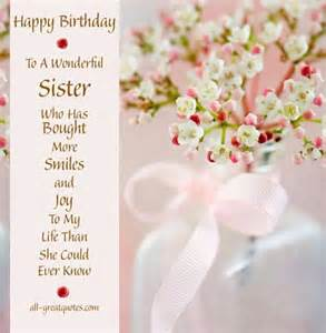 106 best happy birthday wishes for sister with images my