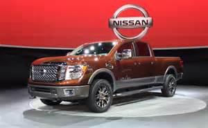 2015 Nissan Titan Diesel 2015 Naias 2016 Nissan Titan Gets 5 0l Turbo Diesel V8