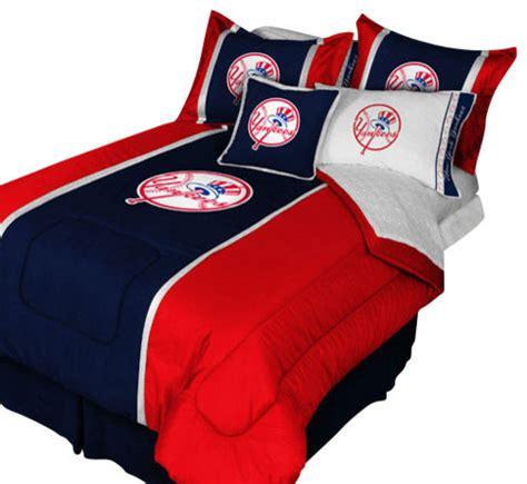 New York Yankees Queen Comforter Pillow Shams Mvp Bed Set New York Yankees Bed Set