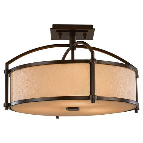 bronze semi flush mount light feiss preston 3 light heritage bronze semi flush mount