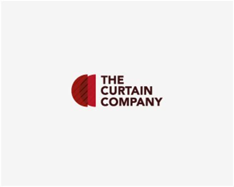 logo curtains curtain company designed by mergestudio brandcrowd