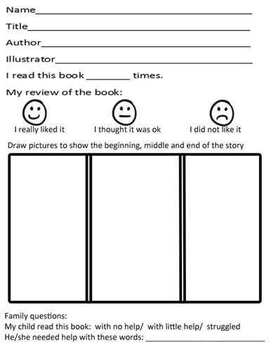 Printable Books For Kindergarten