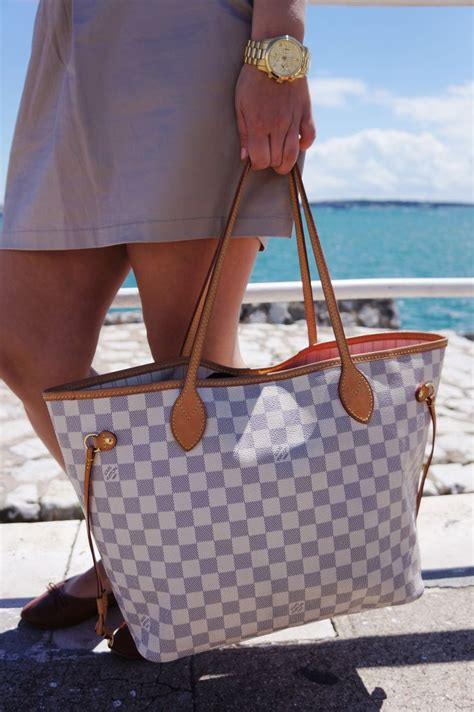 louis vuitton neverfull mm damier azur accessories michael kors outlet bags and