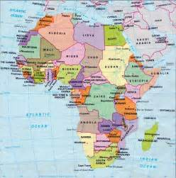 Countries Of Africa Map by Map Of Africa With Countries And Capitals