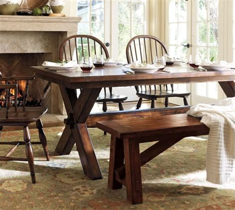toscana fixed dining table bench 3 piece dining set