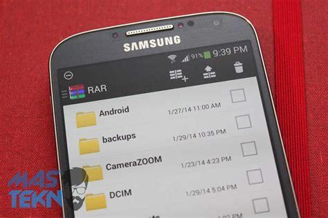 cara membuat zip di android cara extract buka file rar zip di android dengan mudah